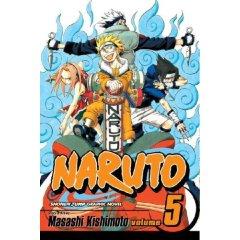 Naruto Volume 5 by Masashi Kishimoto