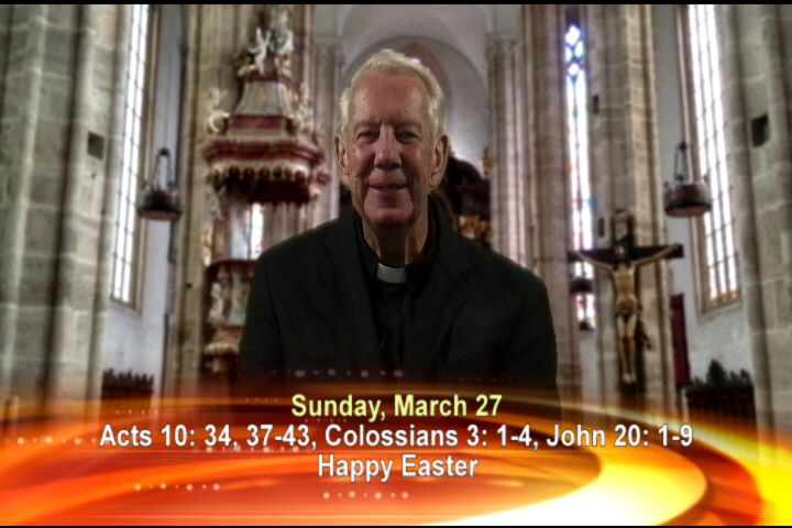 Artwork for Sunday, March 27th Today's Topic: Happy Easter