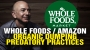 """Artwork for Whole Foods / Amazon engaged in """"ORGANIC DUMPING"""" predatory practices"""