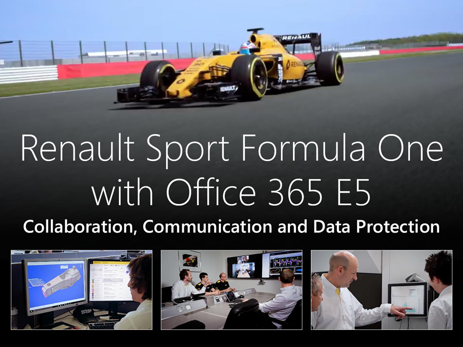 Artwork for Renault Sport Formula One & Office 365 E5