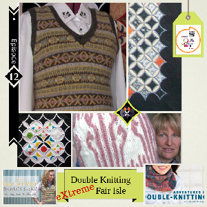 12 eXtreme Double Knitting Fair Isle