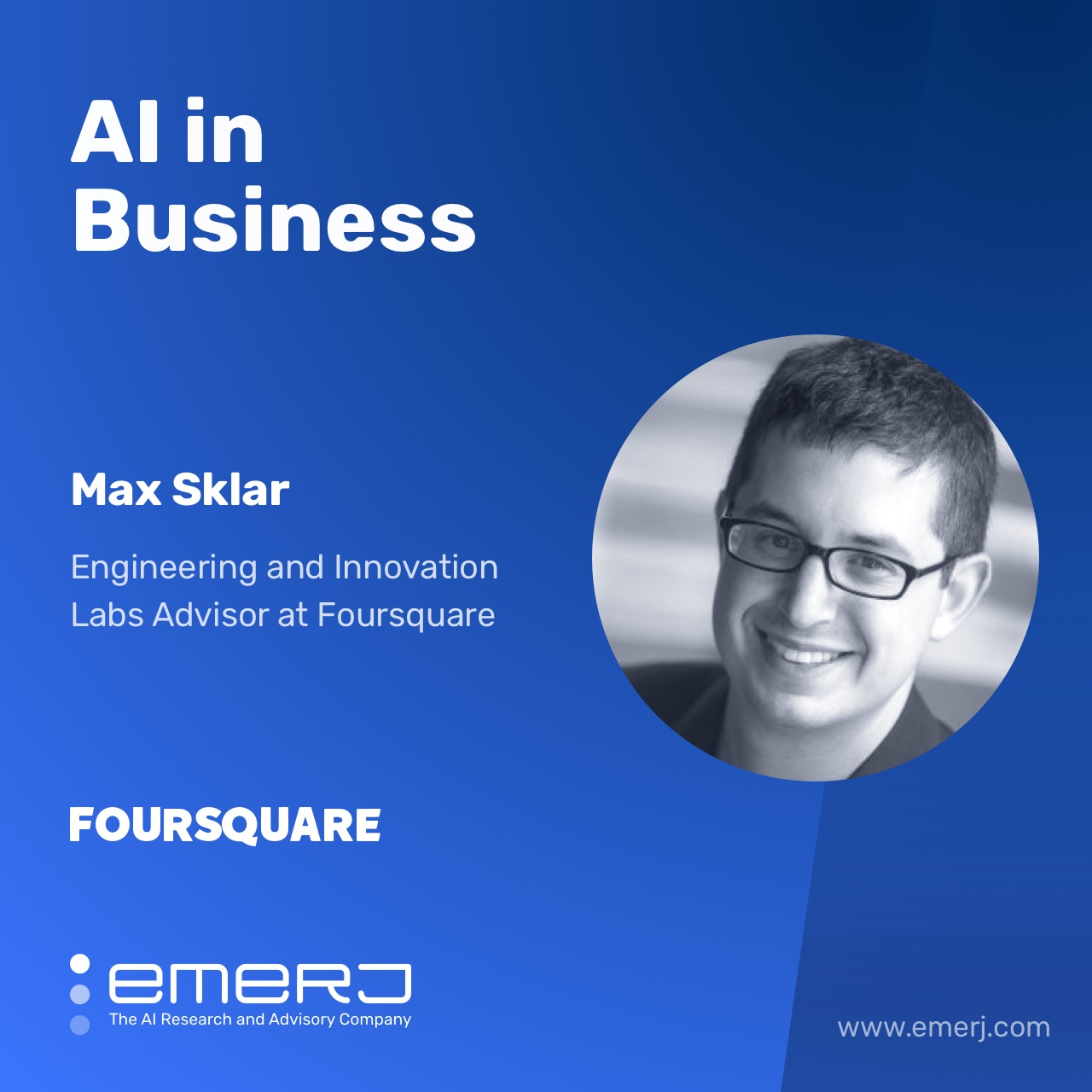 The Business Value of Location Data - with Max Sklar of Foursquare