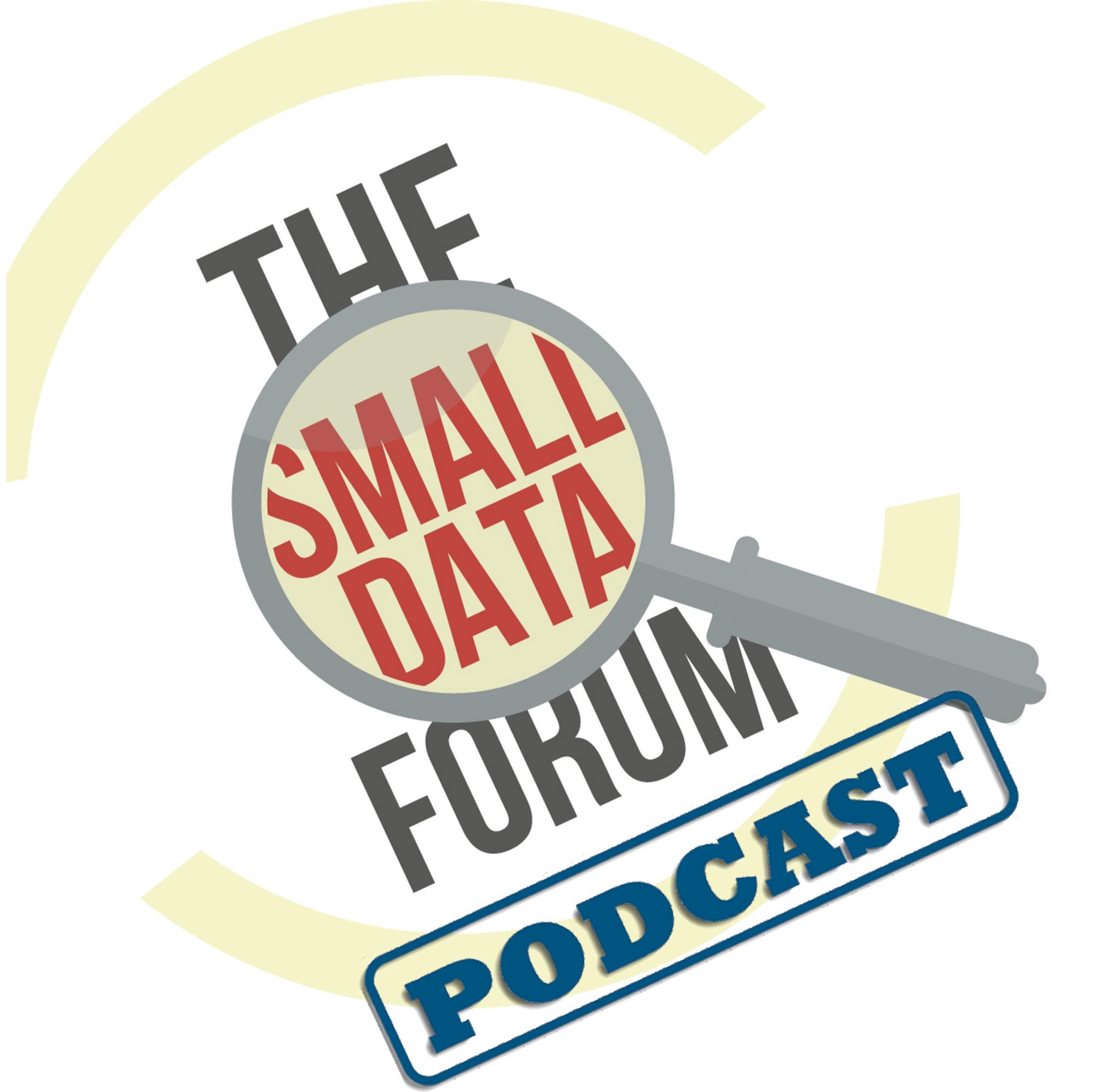 Small Data Forum Podcast show art