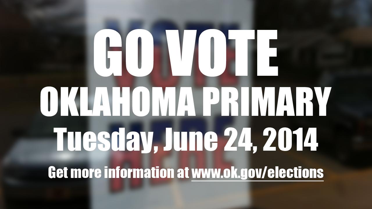 Artwork for Blog Oklahoma Podcast 95: Video Extra - GO VOTE!!