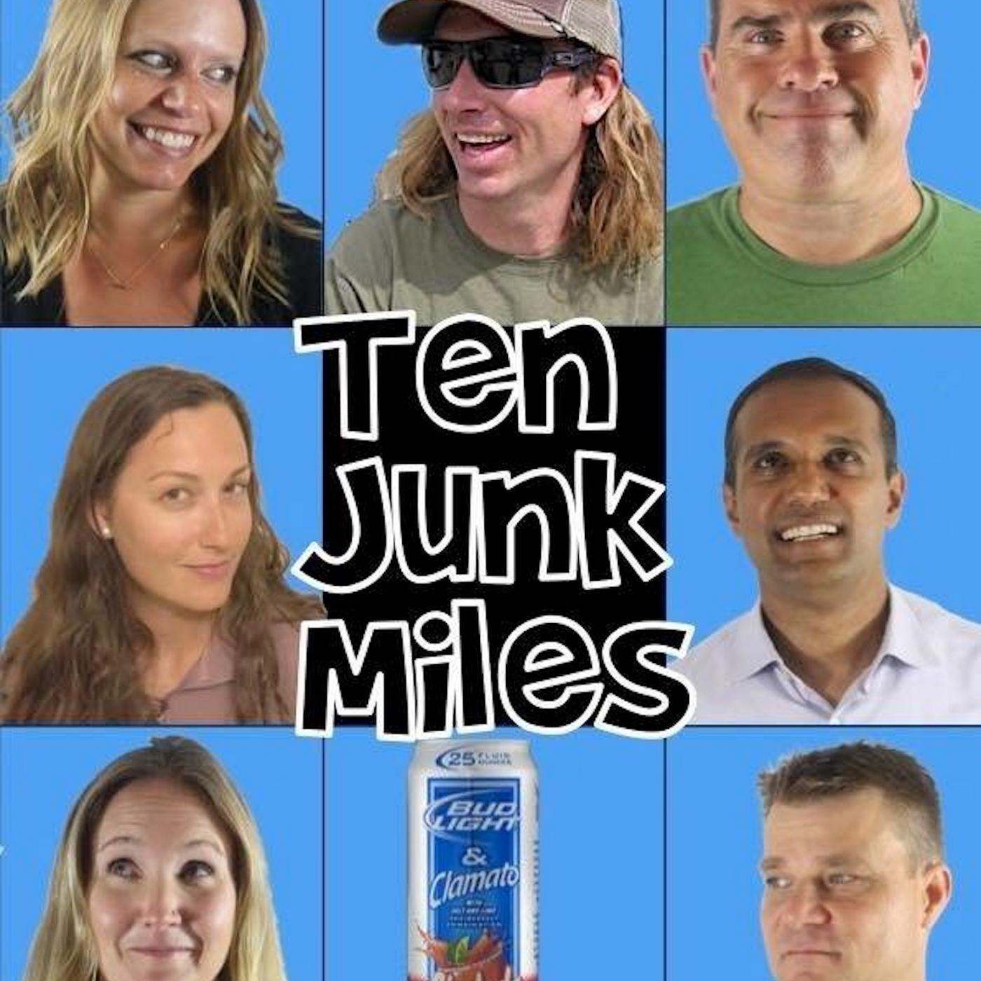 Ten Junk Miles show art