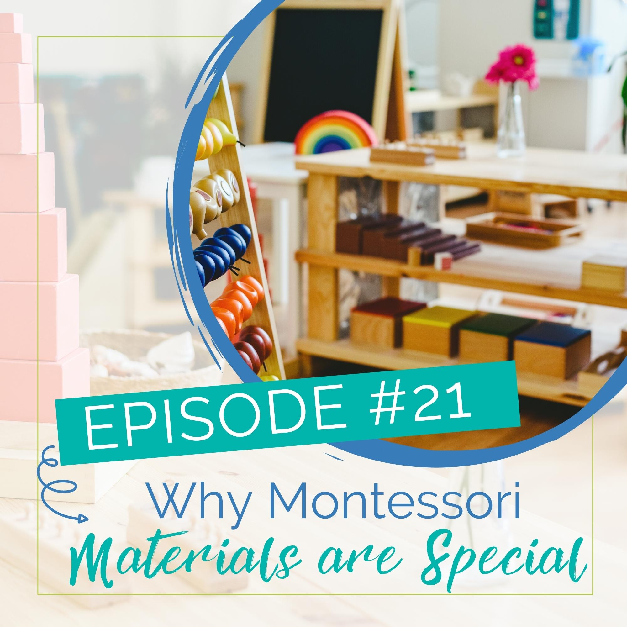 Episode 21: Why Montessori Materials are so Special show art