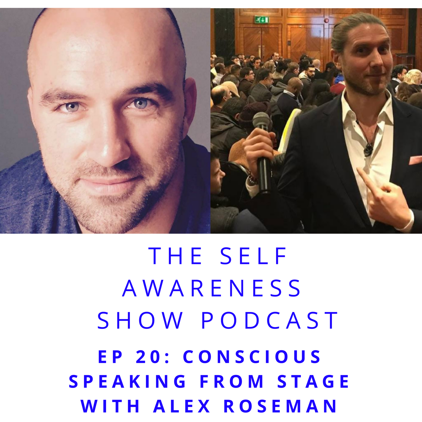 Artwork for Ep 20 Conscious Powerful Speaking From Stage with Alex Roseman