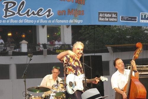 Big Joe Louis at the Mijas Blues Festival