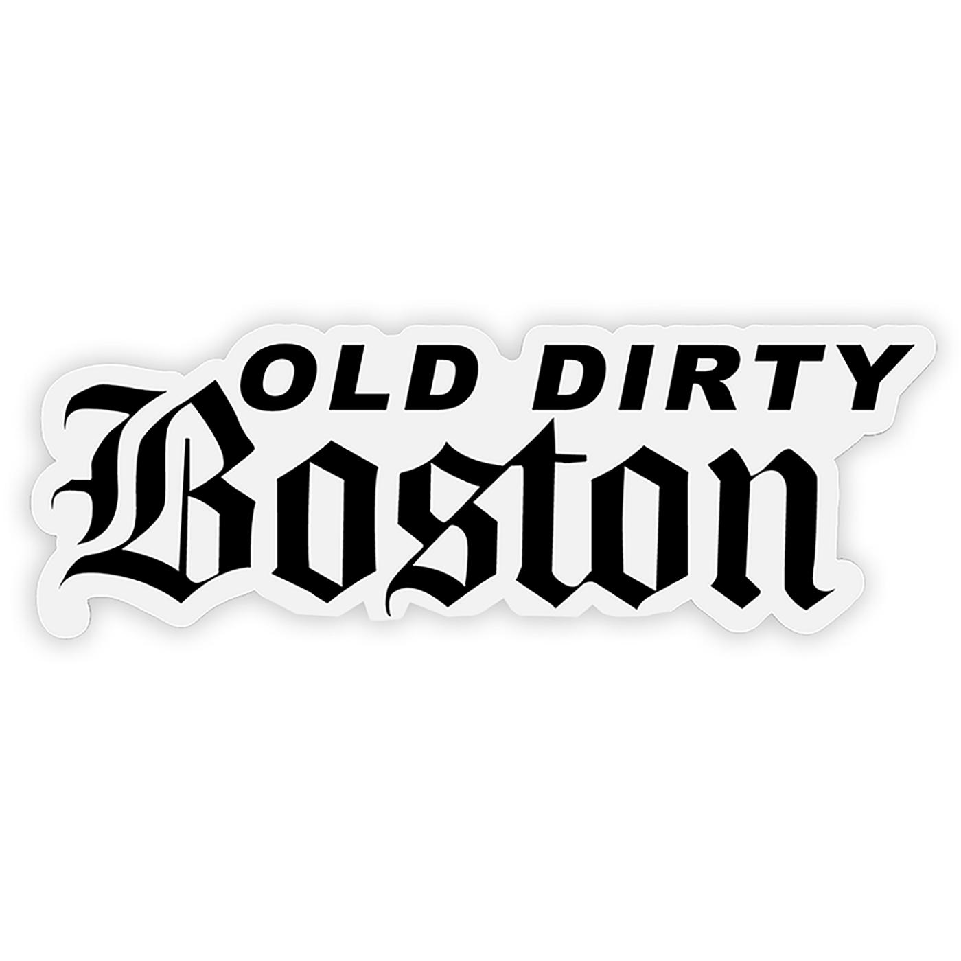 Old Dirty Boston show art