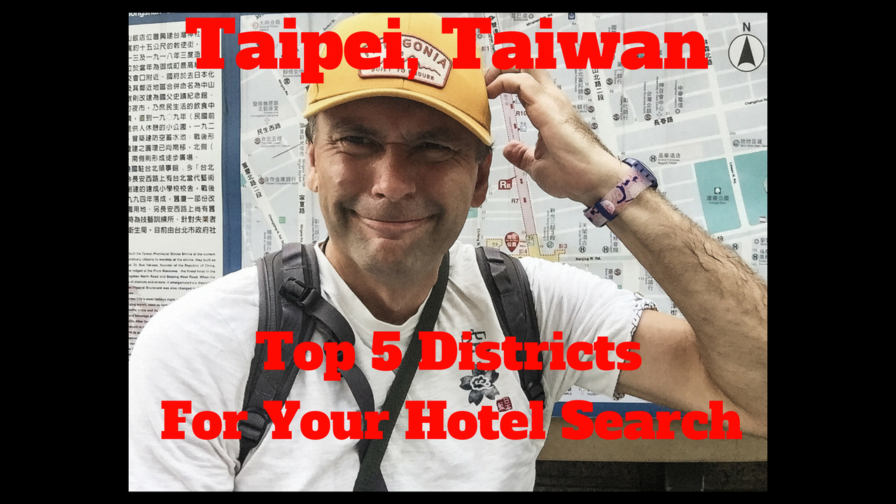 Artwork for Taipei, Taiwan-Top 5 Districts For Your Hotel Search