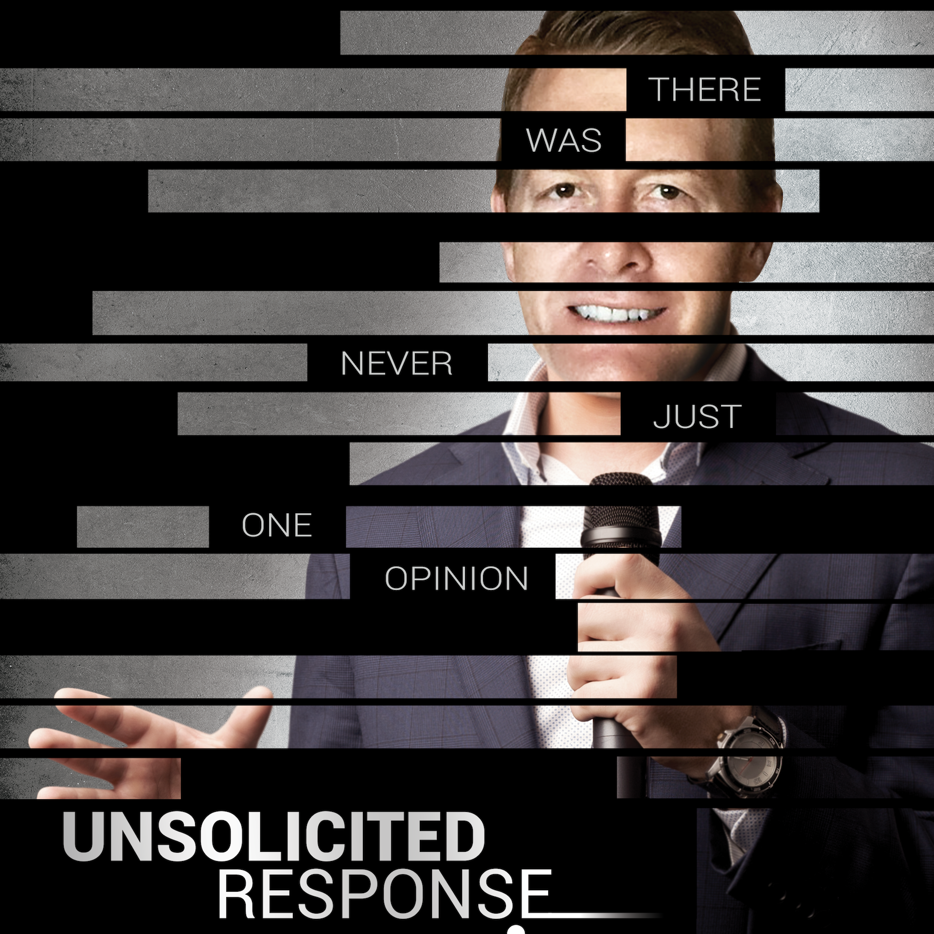 Unsolicited Response Podcast show art