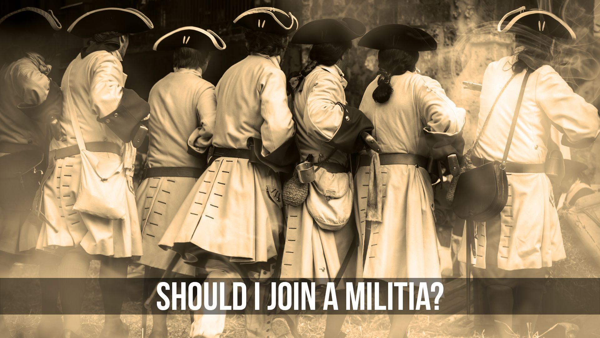 Should You Join A Militia Student Of The Gun Radio