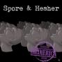 Artwork for #329 - Hesher & Spore