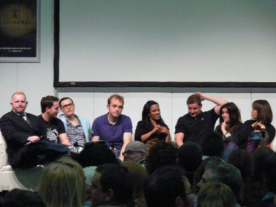 Tim's Take On: Episode 123(The Olympic Torch reaches Cardiff/Torchwood panel at The Greatest Show in The Galaxy)