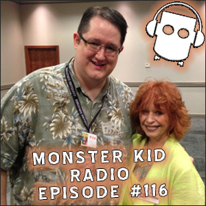Monster Kid Radio #116 - Beverly Washburn at Monster Bash