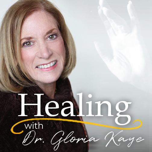 Dr Gloria Kaye's podcast show art