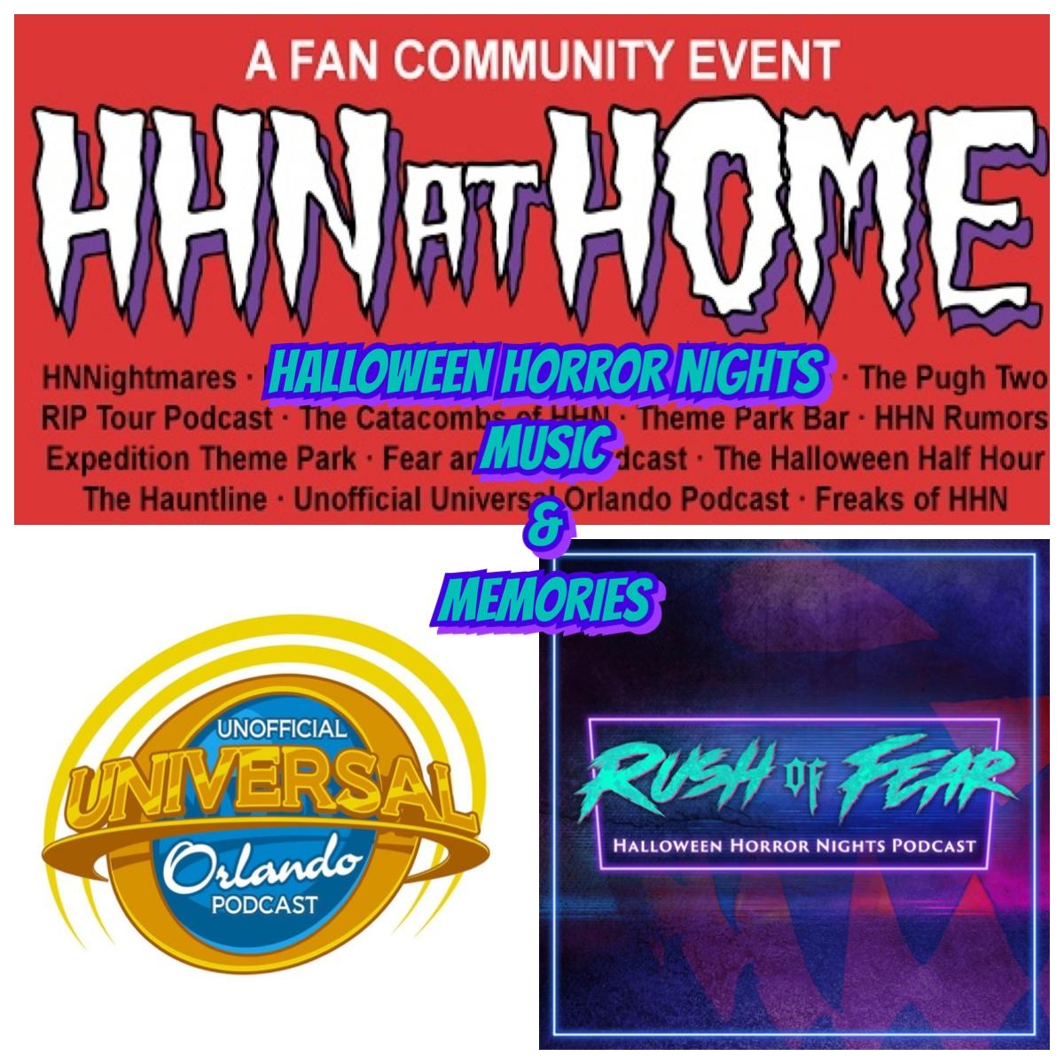 HHN@HOME - Halloween Horror Nights Music & Memories show art