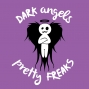 Artwork for DAPF #81. Dark Angels & Pretty Freaks #81. We talk Getting Dissed on Periscope, Crazy Work, Puppy update, Off center belly button, Who pays on first dates, 5 favorite back to school supplies, Jamicacast2016 and so much more!