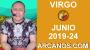 Artwork for HOROSCOPO VIRGO - Semana 2019-24 Del 9 al 15 de junio de 2019 - ARCANOS.COM...