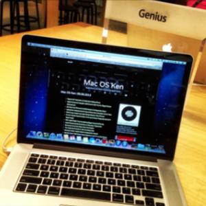 Mac OS Ken: 09.09.2013