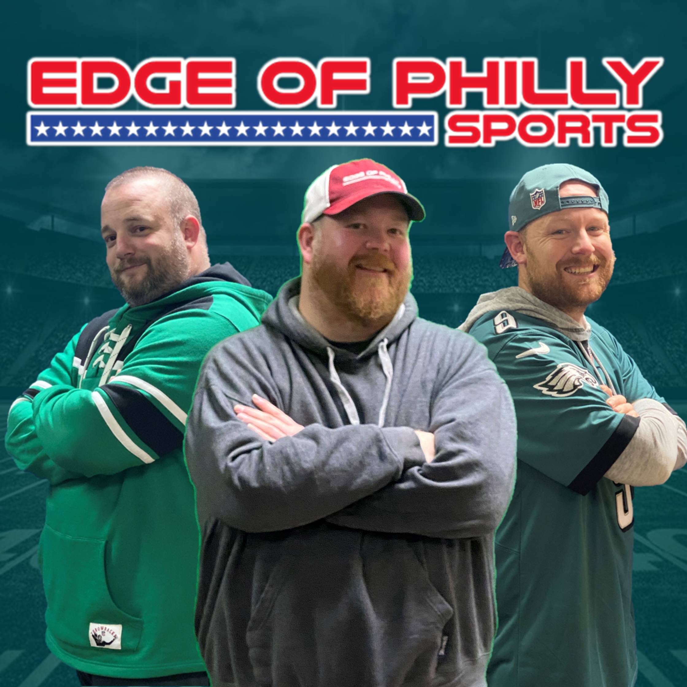 Edge of Philly Sports Live with Rob Maaddi show art