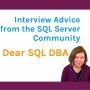 Artwork for Interview Advice from the SQL Server Community