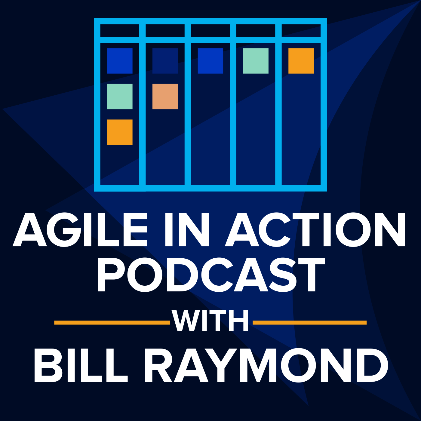 Agile in Action with Bill Raymond show art
