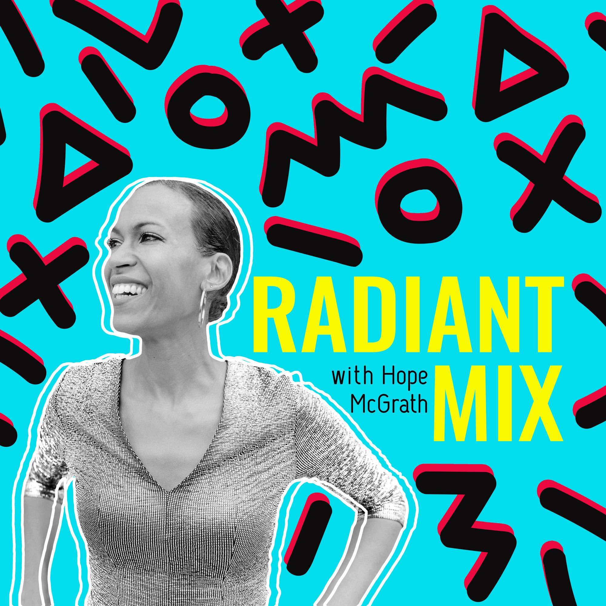 Radiant Mix show art