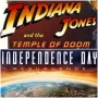 Artwork for Week 24: (Indiana Jones and the Temple of Doom (1984), Independence Day: Resurgence (2016))
