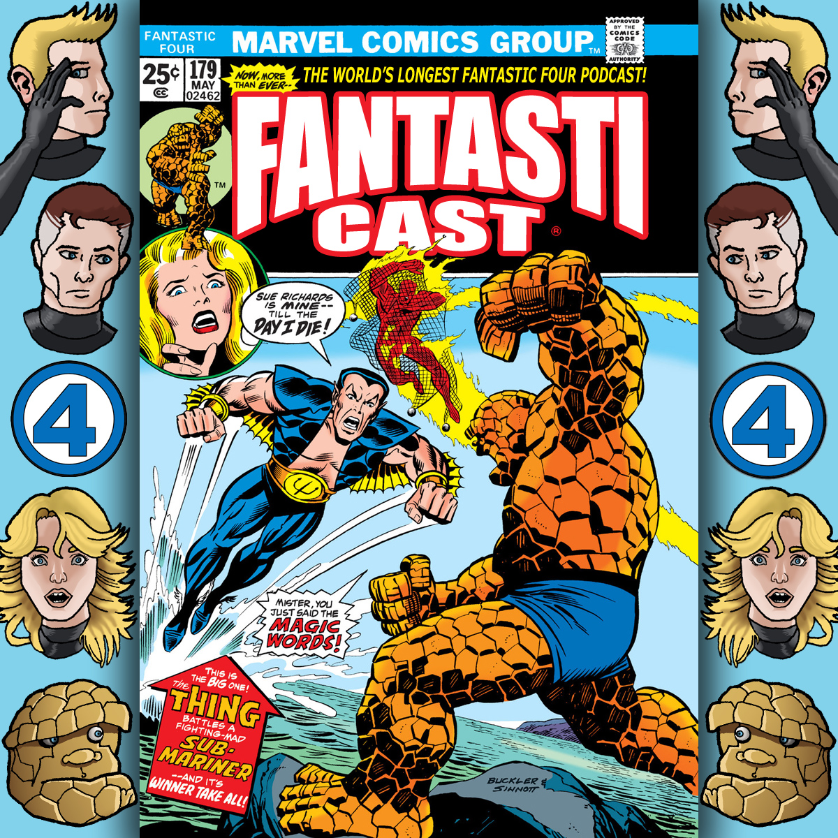 Episode 179: Fantastic Four #147 - The Sub-Mariner Strikes