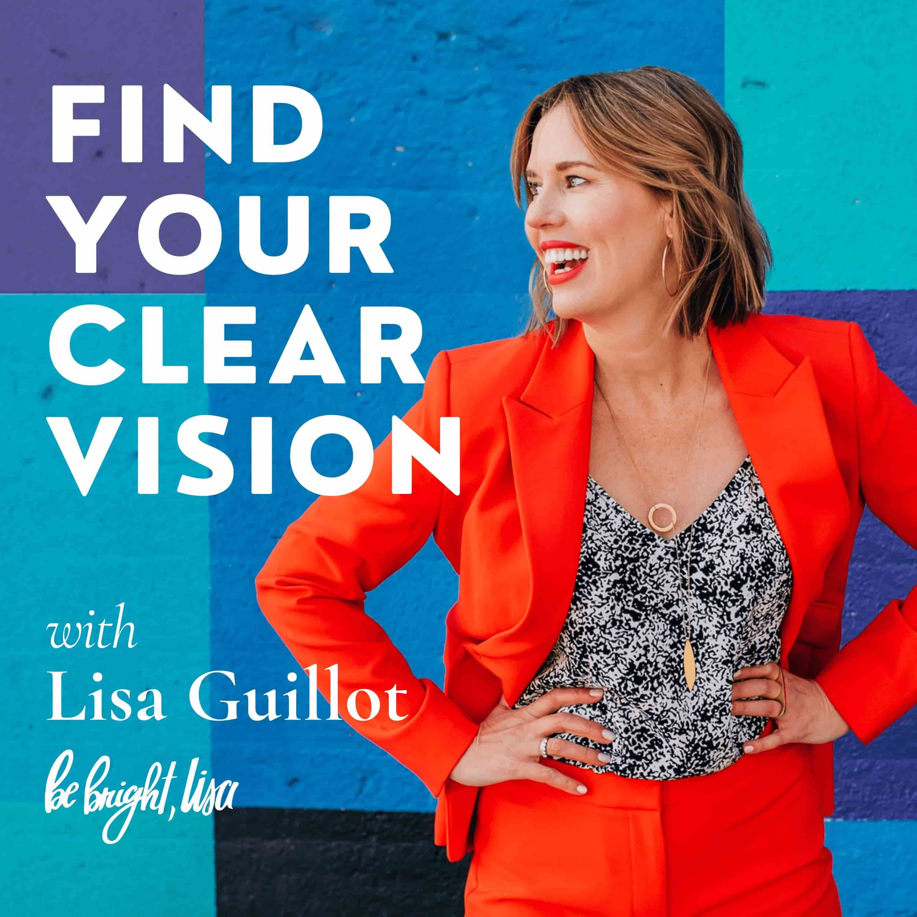 Find Your Clear Vision Podcast show art