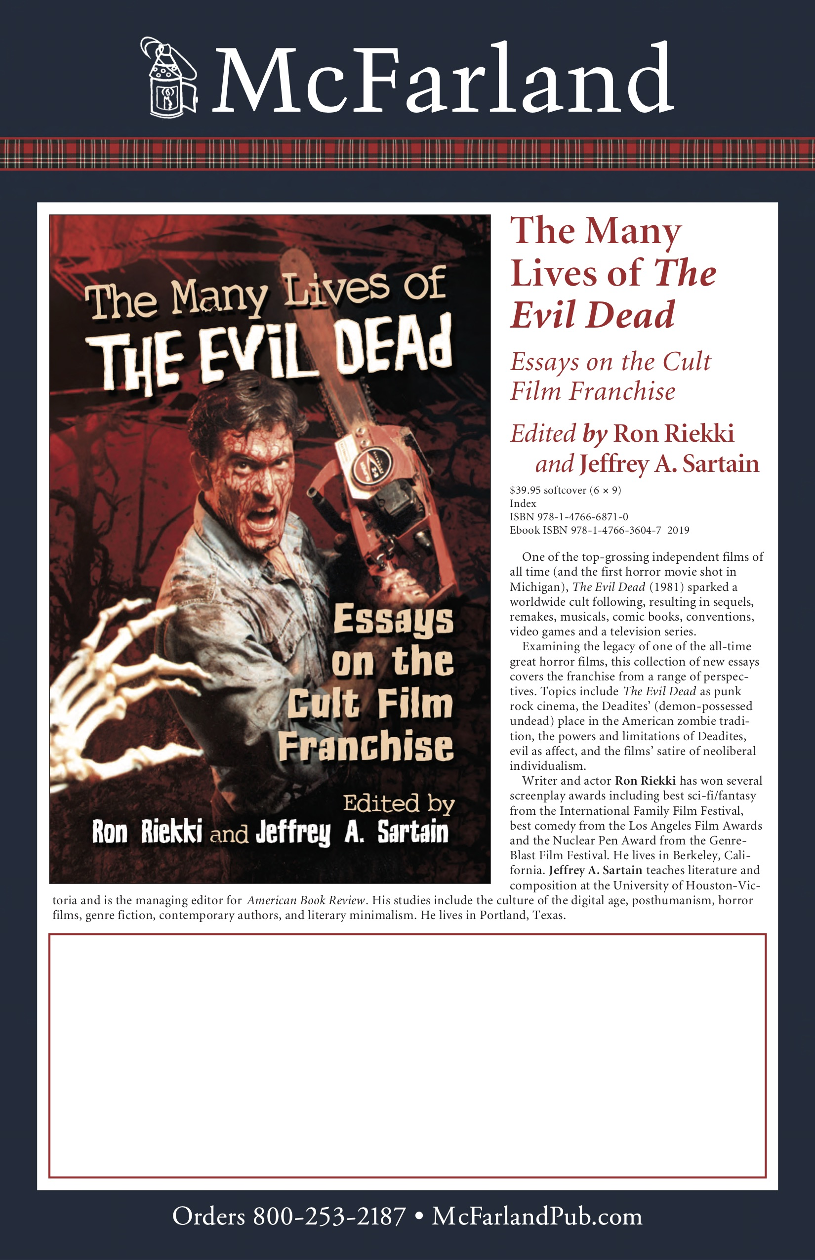 The Many Lives of the Evil Dead - book cover