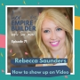 Artwork for How to show up on Video with Rebecca Saunders
