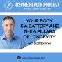 Artwork for Your Body is a Battery and the 4 Pillars of Longevity With Scott Sommer : IHP84