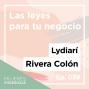 Artwork for Ep. 039 Las leyes para tu negocio con Lydiarí Rivera Colón