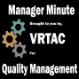 Artwork for VRTAC-QM Manager Minute: Planning for Success with Succession Planning so the VR Show can go on…