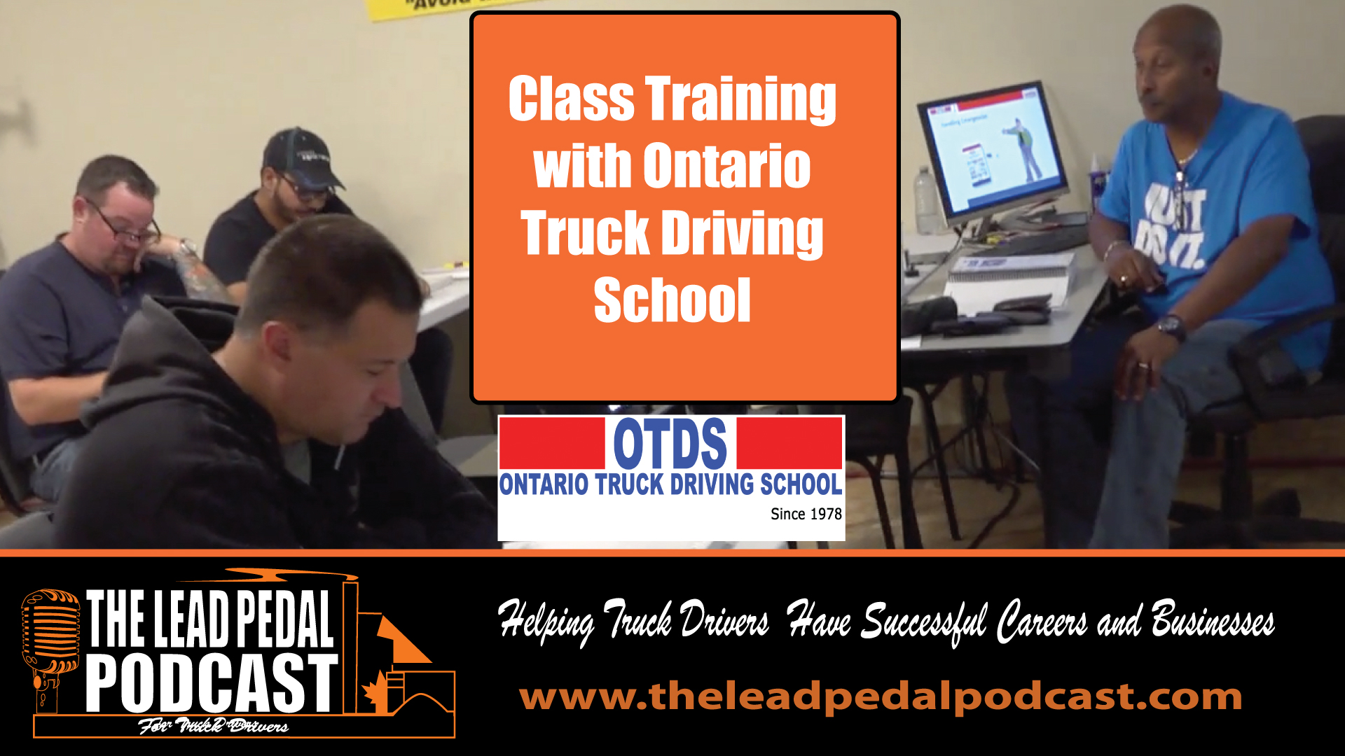 In the Class with Ontario Truck Driving School