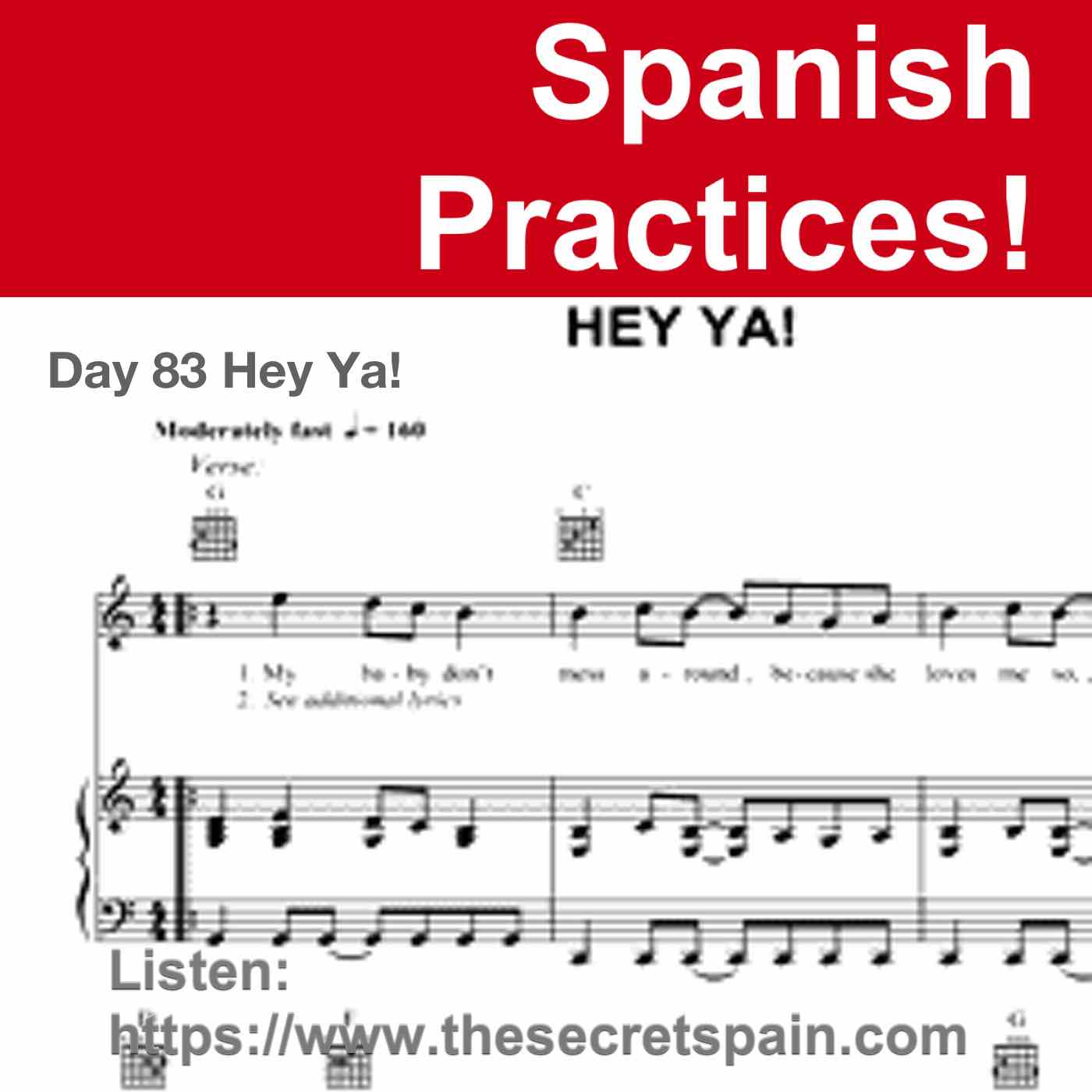 """Day 83 - """"Hey Ya!"""""""