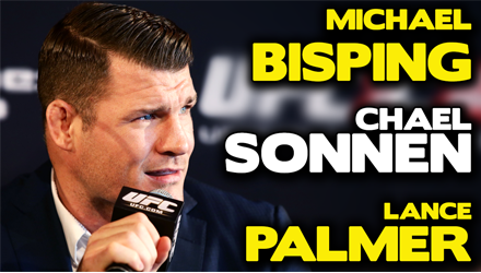 Submission Radio #75 Chael Sonnen, Michael Bisping, Lance Palmer, Elias Cepeda + Roundtable