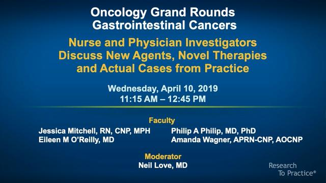 Artwork for Oncology Grand Rounds Series: Part 1 — Gastrointestinal Cancers