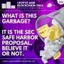 Artwork for What is this garbage? It is the SEC Safe Harbor Proposal, Believe it or Not! #96