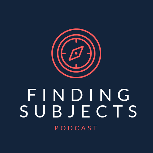 Finding Subjects Podcast show art
