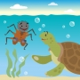 Artwork for Discover How What Goes Around Comes Around in this Trickster Tale - Storytelling Podcast for Kids - Anansi and Turtle E:112