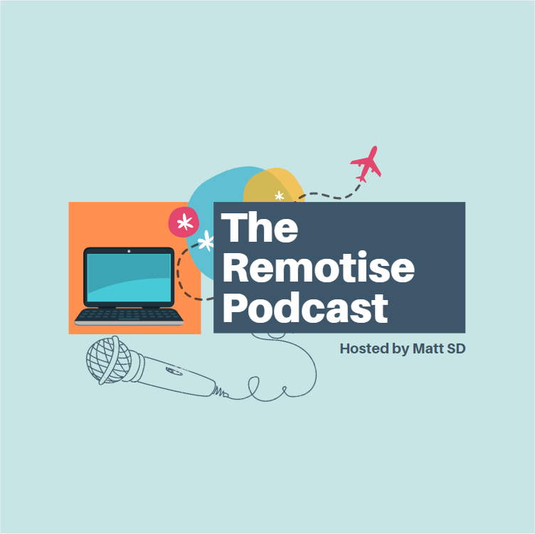 The Remotise Podcast show art