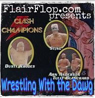 Artwork for Episode 101 - Tully Blanchard and Arn Anderson vs. Sting and Dusty Rhodes - NWA World Tag Team Championship - WCW Clash of the Champions II