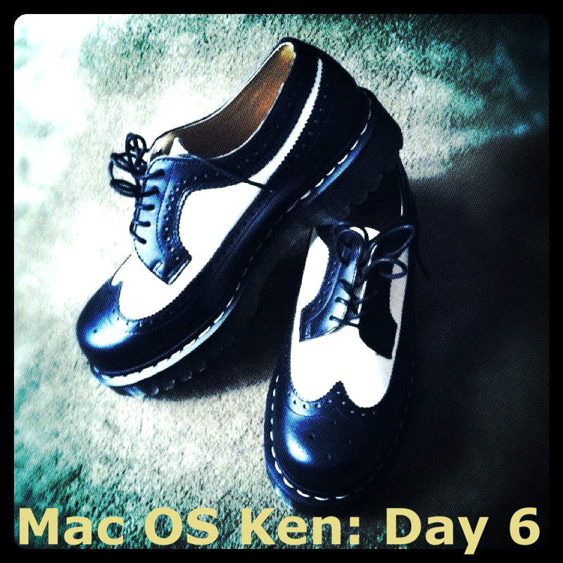 Mac OS Ken: Day 6 No. 271 - Preview