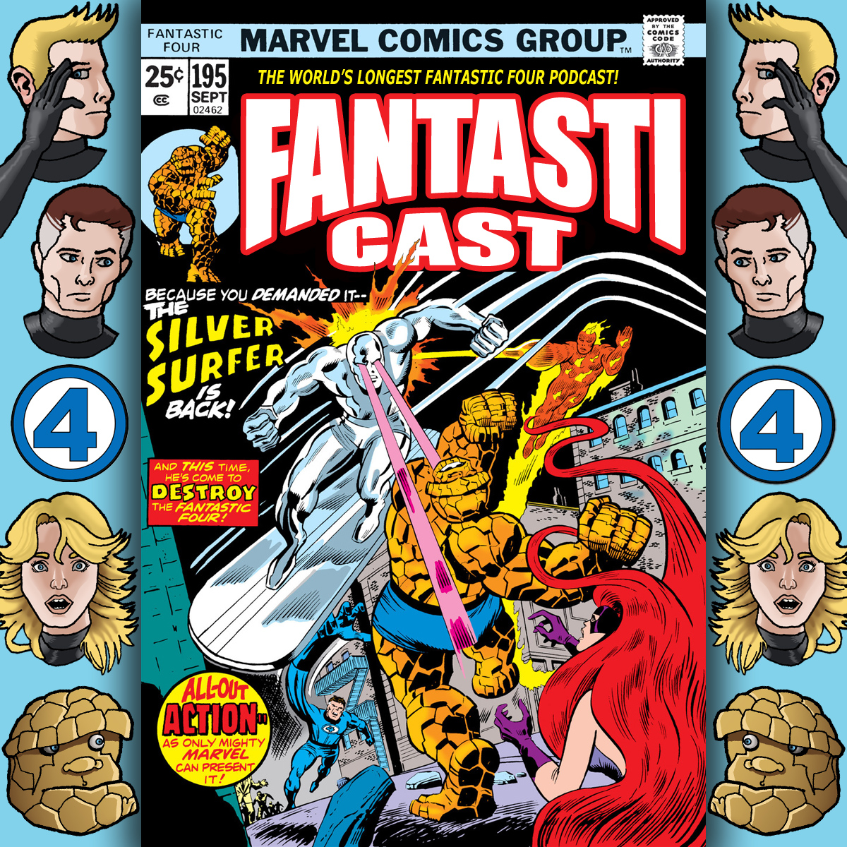 Episode 195: Fantastic Four #155 - Battle Royal