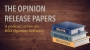 Artwork for The Opinion Release Papers: Opinion Release 13-01