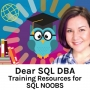 Artwork for Training Resources for SQL Noobs