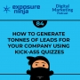Artwork for #84: How to Generate Tonnes of Leads for Your Company Using Kick-Ass Quizzes